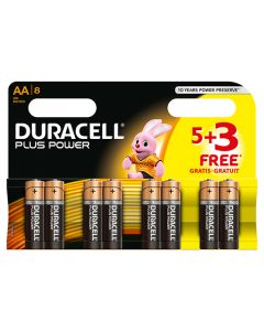 Duracell Battery AA Multi Pack Pack of 8