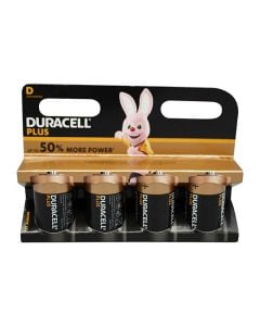Duracell Battery D Multi Pack of 4