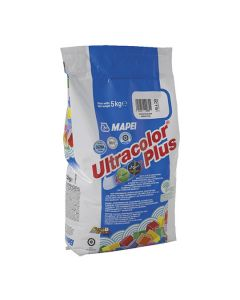MAPEI Grout/Tile Ultracolour Plus - Fast Set 5kg 5kg Med Grey