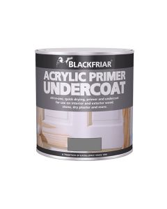 BLACKFRIAR Acrylic Q/Drying Primer Undercoat (Int/Ext) 500ml Grey