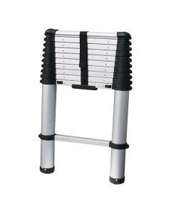 Aluminium Telescopic Ladder Easy Click & Climb 3.8m