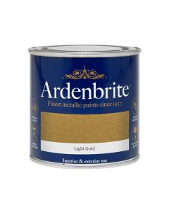 ARDENBRITE Metallic Paint - Water Based 250ml Light Gold