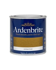 ARDENBRITE Metallic Paint - Water Based 250ml Antiq Gold