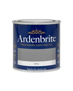ARDENBRITE Metallic Paint - Water Based 250ml Silver