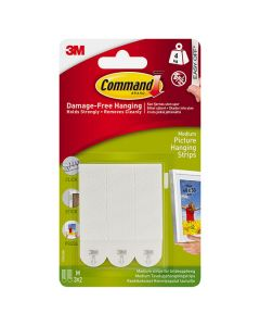 3M Command Picture Hanging Strips Medium 3 Sets