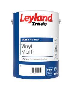 LEYLAND Vinyl Matt 5L BS White