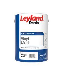 LEYLAND Vinyl Matt 5L Antiq Whte