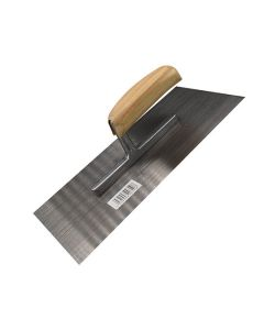 Budget Finishing Trowel - Wooden Handle 11x5in