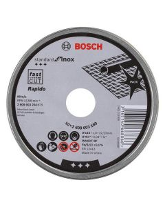 BOSCH Rapido Metal Cutting Disc - Thin Extra Fine 115mm