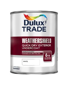 DULUX Trade Q/D Undercoat 1L White