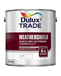 Dulux Trade Quick Dry Undercoat Paint White 2.5L