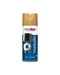 PLASTI-KOTE Spray - Metallic 400ml Antiq Gold