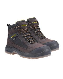 Stanley Yukon Safety Boots Brown Size 7
