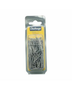 Challenge Bright Steel Panel Pins 30mm 100g