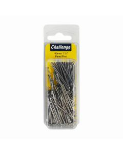 Challenge Bright Steel Panel Pins 40mm 100g