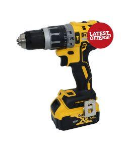 DEWALT XR Brushless Combi Drill Inc. 1 x 5.0Ah Battery
