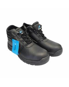 PRO MAN Contractor Safety Boots 8 Black