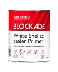 BLOCKADE White Shellac Sealer Primer 1L White