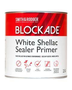 BLOCKADE White Shellac Sealer Primer 2.5L White