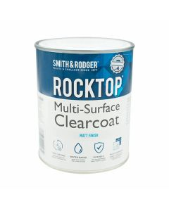 Rocktop Multi Surface Paint Clearcoat Matt Clear 1L