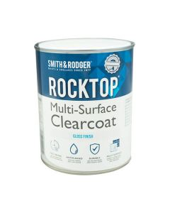 Rocktop Multi Surface Paint Clearcoat Gloss Clear 1L