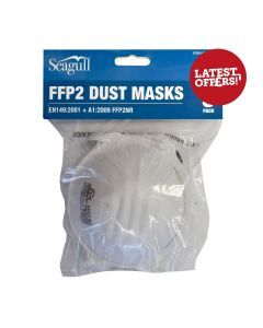 Dust Mask - Cup Shape FFP2 Pk5