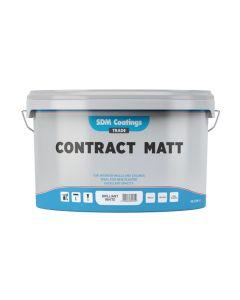 SDM Coatings Contract Matt Brilliant White 10L