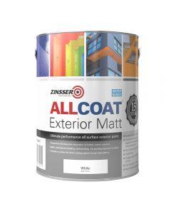 Zinsser AllCoat Exterior 2.5Ltr  WB Matt White