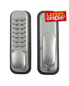 Ingersoll Briton Digital Door Lock Chrome