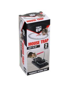 Times Up Easy Set Mouse Trap Twin Pack
