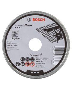 Bosch Rapido Metal Cutting Disc - Thin Extra Fine 115mm Each