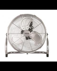 High Velocity Floor Fan 18in Chrome