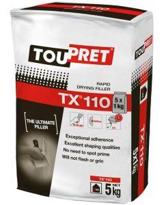 Toupret TX110 Rapid Drying Filler 5kg