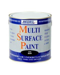 Bedec MSP Multi Surface Paint Gloss Black 2.5L