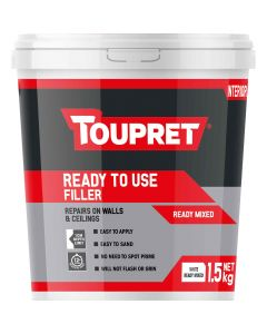 Toupret Ready Mixed All Purpose Filler White 1.5kg