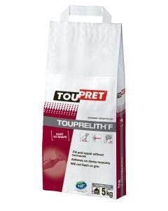 Toupret Touprelith F Masonry Exterior Filler Grey 5kg