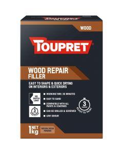 Toupret Wood Repair Fast Drying Wood Filler Beige 1kg
