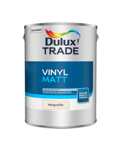 Dulux Trade Vinyl Matt Emulsion Paint Magnolia 5L