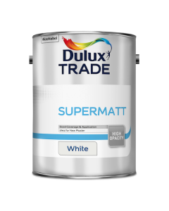 Dulux Trade Supermatt Emulsion White 5L