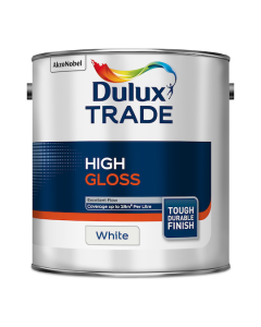 Dulux Trade High Gloss Paint White 2.5L