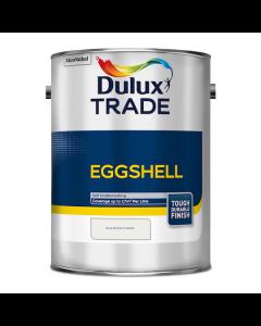 Dulux Trade Eggshell Paint Pure Brilliant White 5L