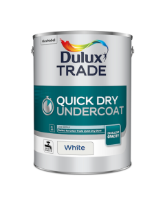 Dulux Trade Quick Dry Undercoat Paint White 5L