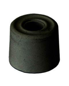 Black Rubber Door Stop Black 34mm Pack of 100