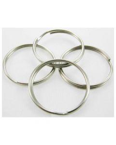 Split Key Rings 25mm Pack of 4