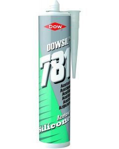 Dowsil 781 Acetoxy Glazing Silicone Sealant Clear 310ml