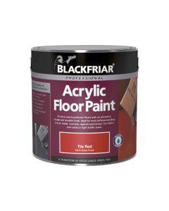 Blackfriar Acrylic Floor Paint Tile Red 2.5L