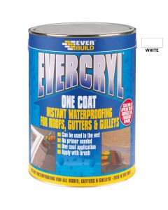 Everbuild Evercryl One Coat Roof Repair White 5kg