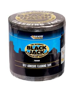 Everbuild Black Jack Flashing Tape 150mm x 10m Roll