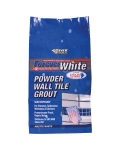 Everbuild Forever White Wall Tile Grout White 1kg