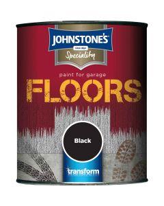 Johnstones Speciality Garage Floor Paint  Black 750ml